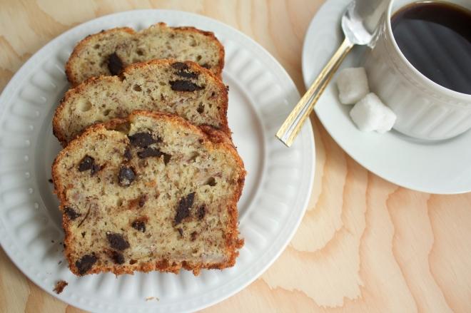 Banana bread from Wholly-cupcake.com